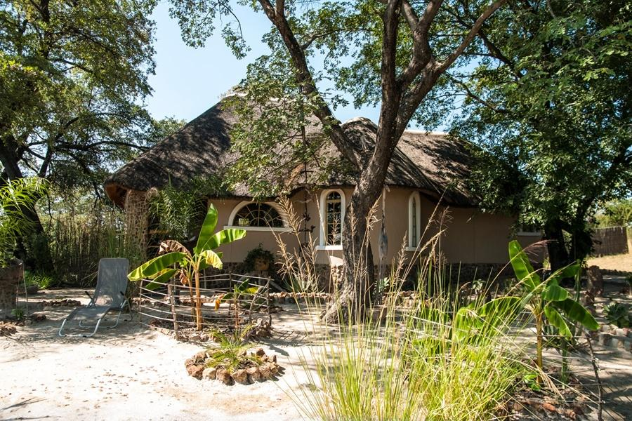 Luxury chalet at the Okavango