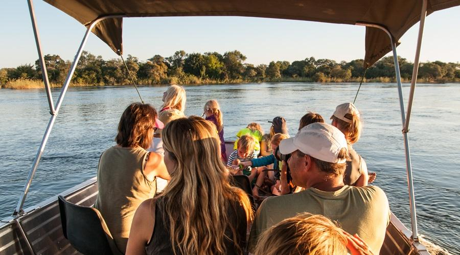 Boat Cruise on the Okavango River